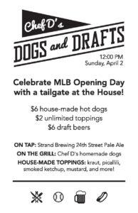 "Chef D's ""Dogs and Drafts"" @ Manhattan House | Manhattan Beach | California | United States"