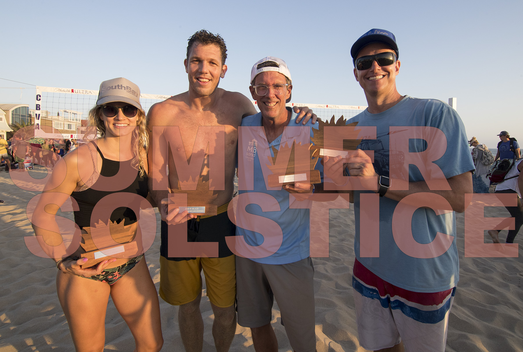 Summer Solstice Volleyball Tradition Continues in Hermosa Beach (VIDEO)