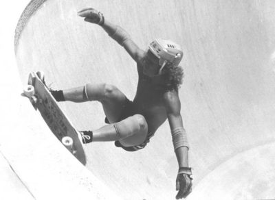 Champion skateboarder, surferTy Page invented pop shove-it