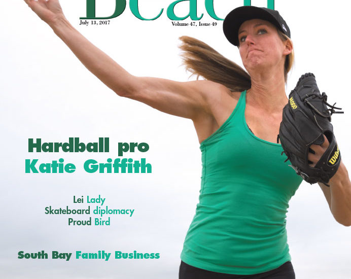 The quest of Glitter Diesel: Katie Griffith's goal is to become the first female professional baseball pitcher