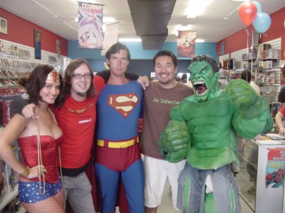 Manhattan Beach San Diego Comic Con  Comic creators prep for event of the year