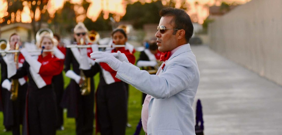 Redondo High band director Vizcarra  champions careers of young musicians