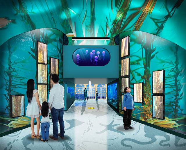 New Roundhouse Aquarium Scout House Designs Roved For Manhattan Beach