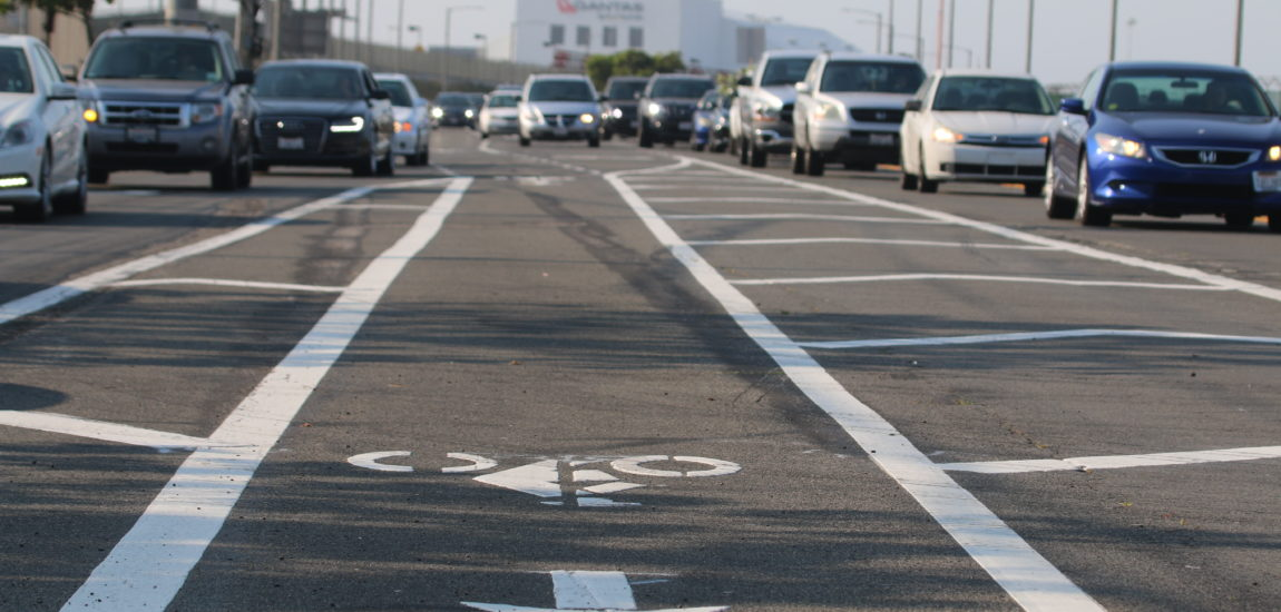 Traffic Jam: Cycle of frustration off Vista Del Mar