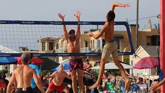Founders remembered, youngster takes over Labor Day four-man beach volleyball tourney