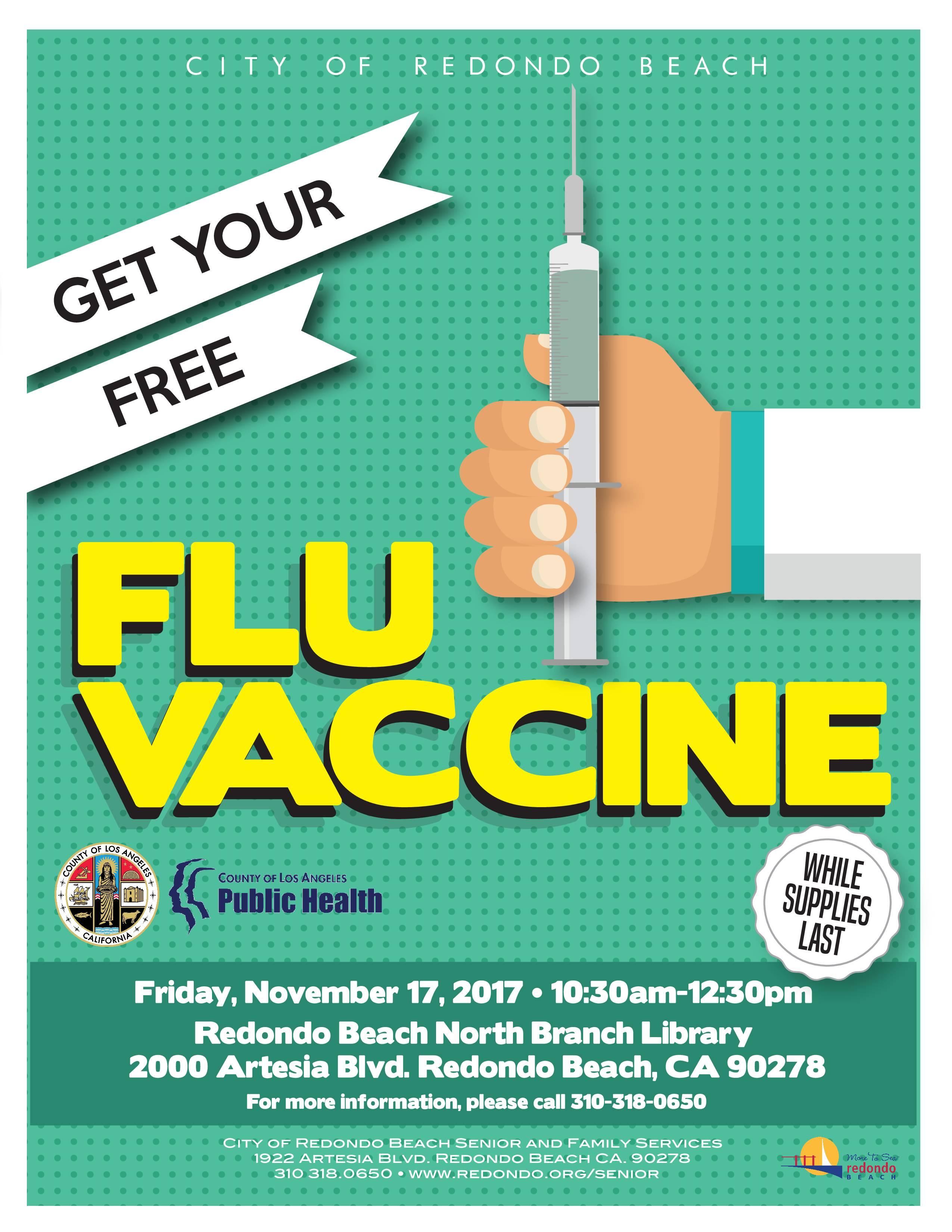 Flu Vaccine Flyers Free: Get Your FREE Flu Vaccine
