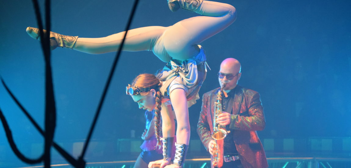"""Circus Vargas, in town with """"Steam Cirque"""""""
