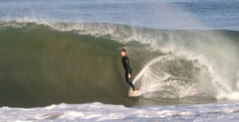 Big walled out surf hits the South Bay beaches (video)