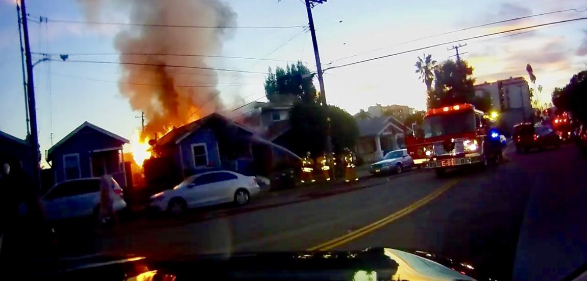 Two homes damaged in Redondo Beach fire