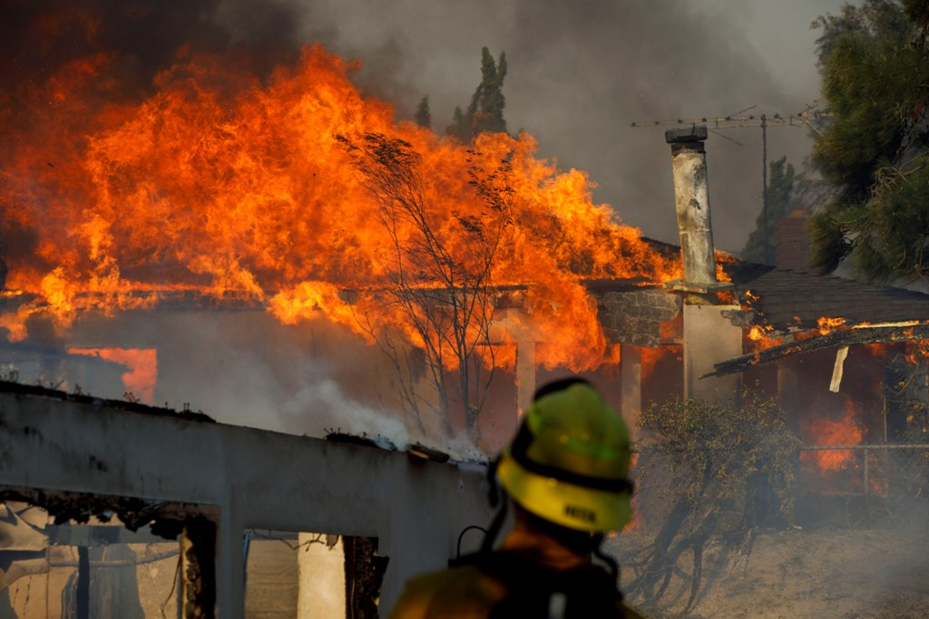 South Bay firefighters fight 'round the clock to stop
