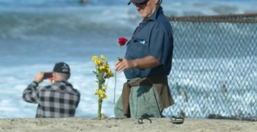 Ruby remembered as 'everyone's friend,' at paddleout in Redondo Beach