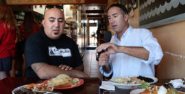 Steve and Brad Visit Casa Playa Restaurant in Redondo Beach