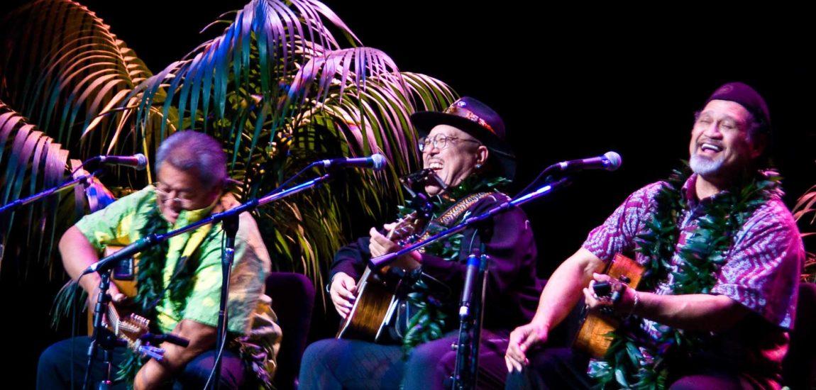 Ku'uipo Kumukahi appears at the Southern California Slack Key Festival