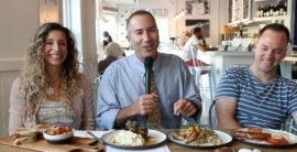 Steve and Brad visit Cafe Wild in Manhattan Beach (video)