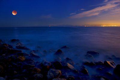 Beach pics – Super Blue Moon
