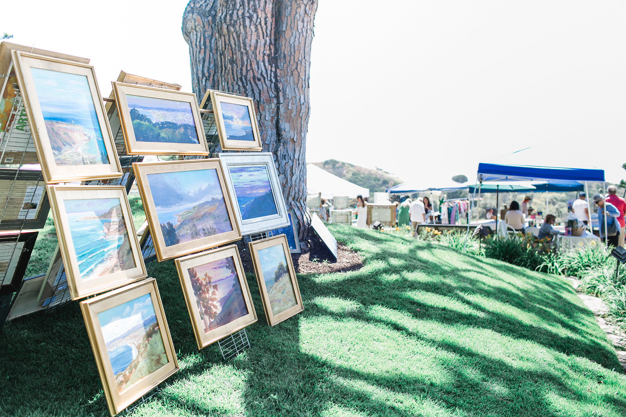 Art By The Sea with Poetic Expression Art Show @ Wayfarers Chapel | Rancho Palos Verdes | California | United States