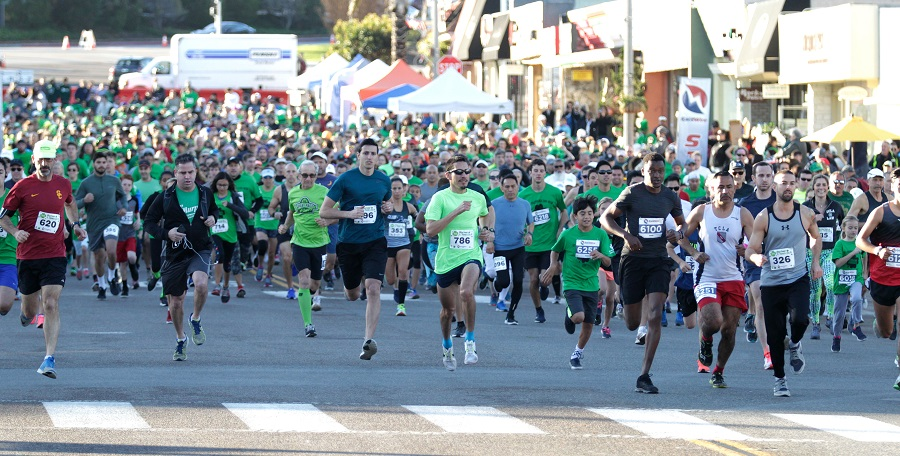 Paredes wins second St. Patrick's 5K in three years