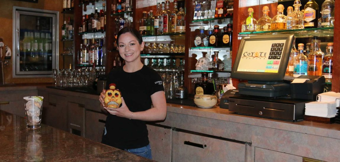 Coyote Cantina: Best of the Beach 2018 Female bartender  Kristina Cordova