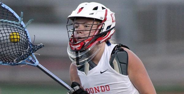Redondo girls lacrosse enjoys comeback victory over PV