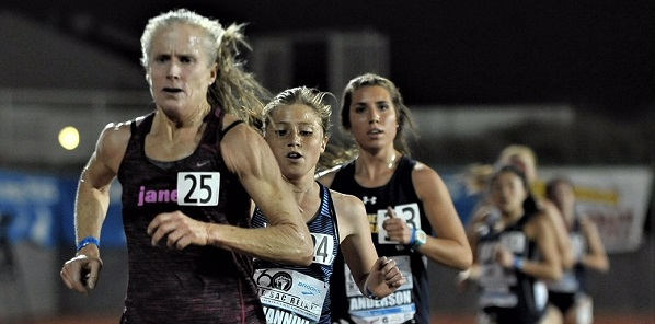 Distance runner Kirsten Leetch breaks 14-year record in 10,000m