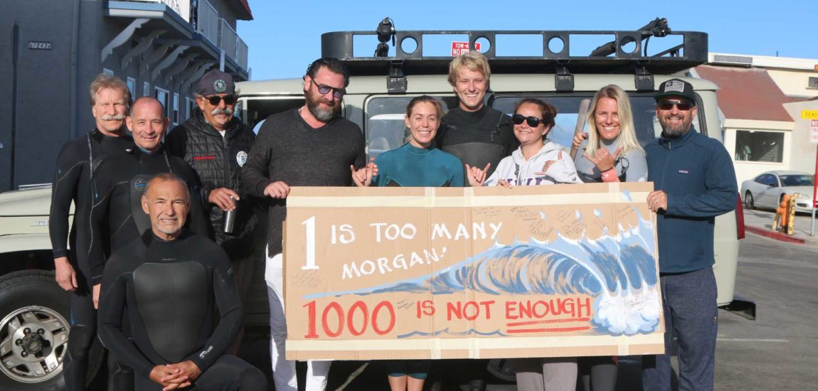 Hermosa Beach's Morgan Sliff notches 1,000 days straight of surfing