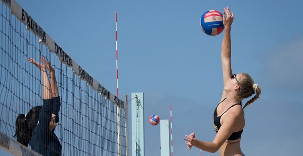 Beach Sports: Basketball, running, swimming, volleyball and more