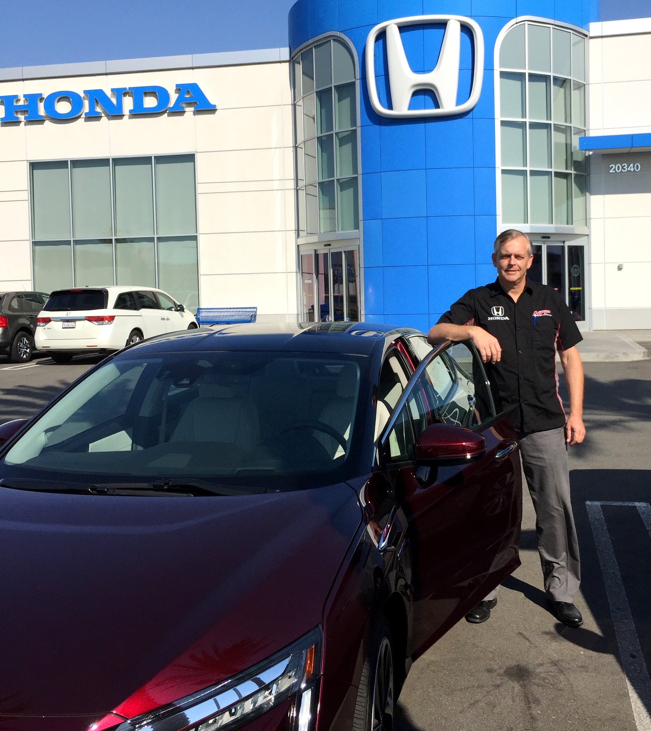 Palos Verdes Native Brett Wright Is One Of Two Specially Trained Clarity Salesmen At Scott Robinson Honda In Torrance Photo By LeftPeak Productions