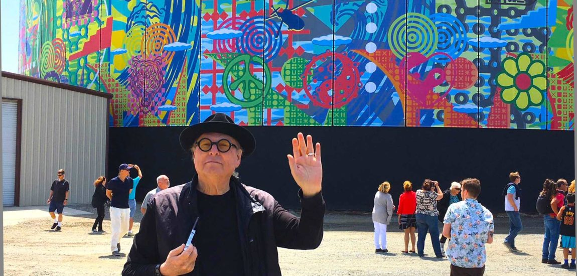 Van Hamersveld envelops El Segundo with his latest, greatest mural