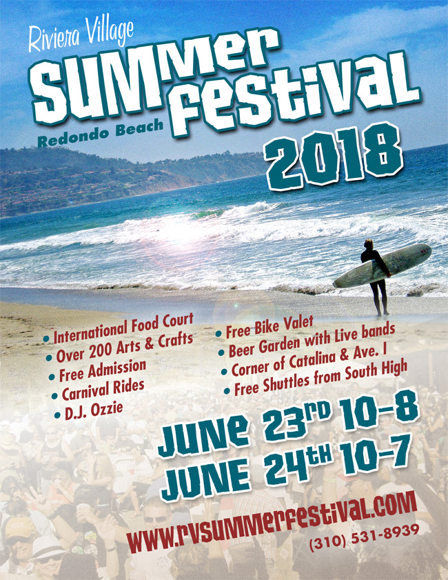 Riviera Village Summer Festival @ Riviera Village | Redondo Beach | California | United States