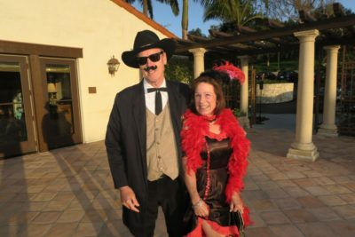 Spotlight on the hill – Wild Wild West Gala