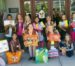 Brownie troop gives back