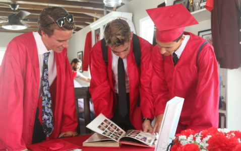 A new tradition is born at the Redondo Union High School alumni house