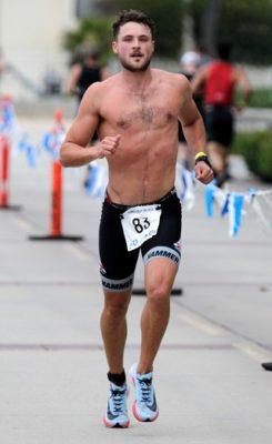 Efron, Temperley swim, cycle and run to Hermosa Beach