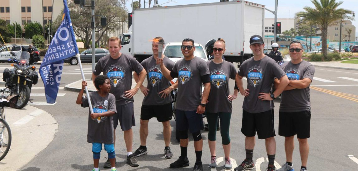 HBPD officers passing the torch