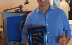 Morton is Manhattan Beach Rotarian of the Year