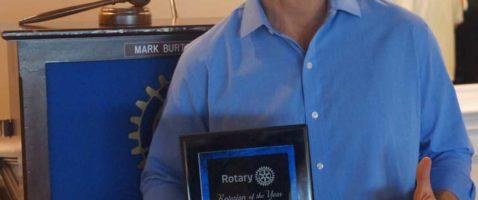 Morton is Manhattan Beach Rotarian of the Year
