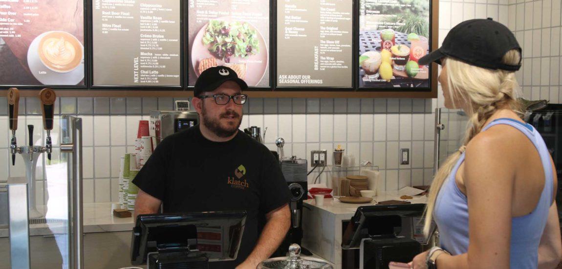 Klatch provides caffeine, conversation