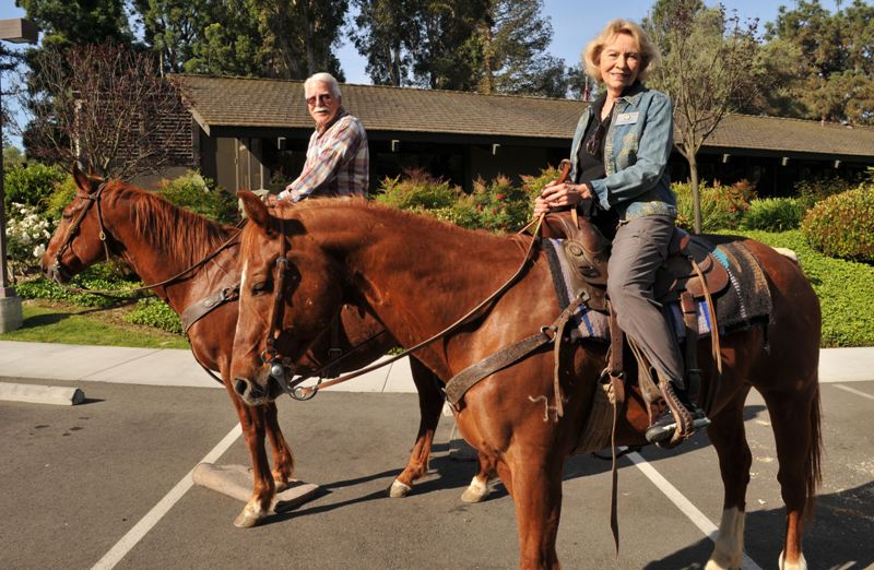 Spotlight on the hill – Annual Mayor's Equestrian Ride