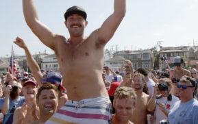 Dunn, Seawwright take titles at 44th Annual Hermosa Beach Ironman