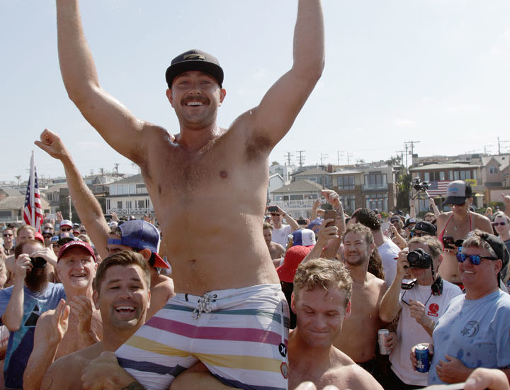Dunn, Seawwright take titles at 44th Annual Hermosa Beach Ironman