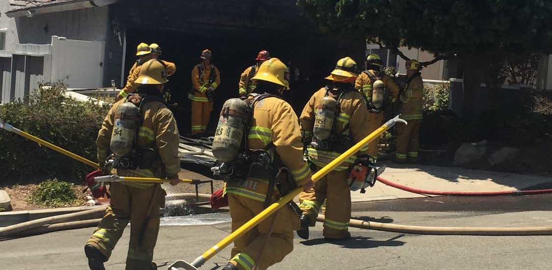Pine Street, Manhattan Beach House Fire Doused