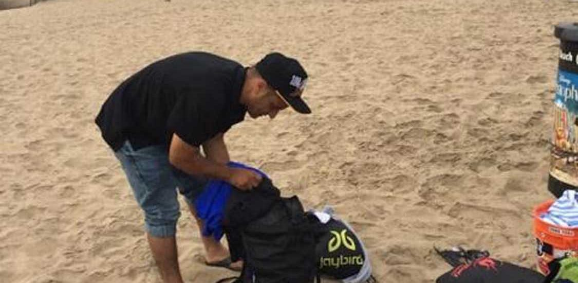 Beach thief suspect sandbagged by swimmers at Manhattan pier