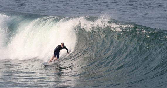 From Both Sides, Surfing the Manhattan Beach Pier