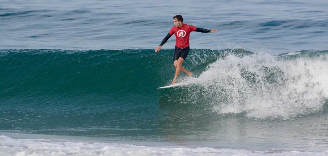 Stutzman steps up to claim ISF longboard title in Manhattan Beach