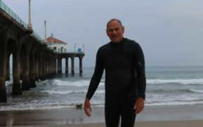 The bodysurfers:  the battle for north side of the Manhattan Beach pier