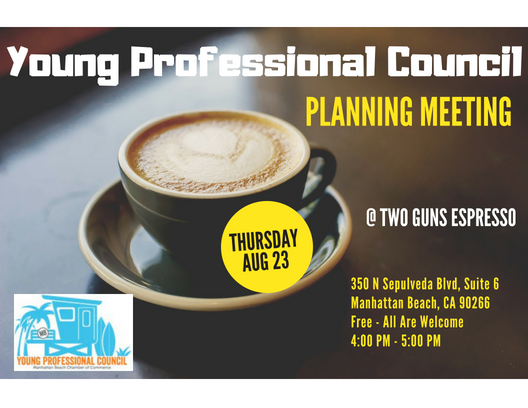 Young Professional Council Planning Meeting @ Two Guns Espresso | Manhattan Beach | California | United States