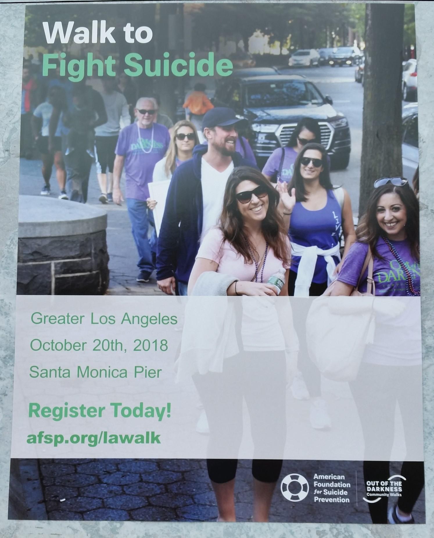Walk To Fight Suicide @ Santa Monica Pier | Santa Monica | California | United States