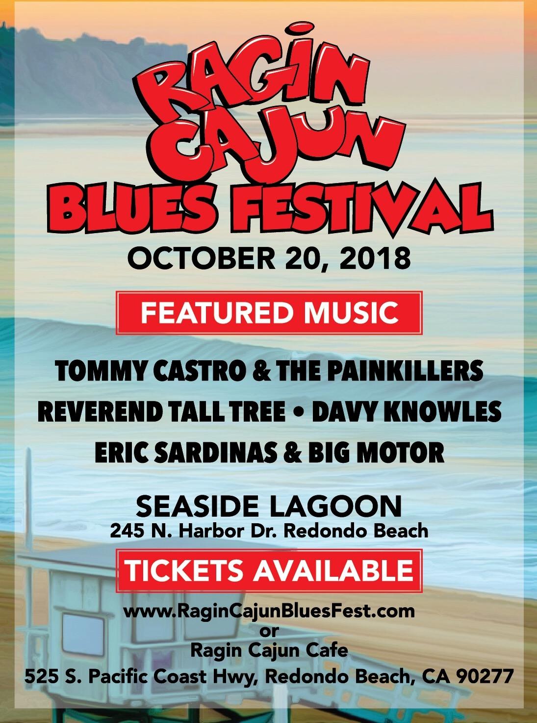 Ragin Cajun Blues Festival @ Seaside Lagoon | Redondo Beach | California | United States