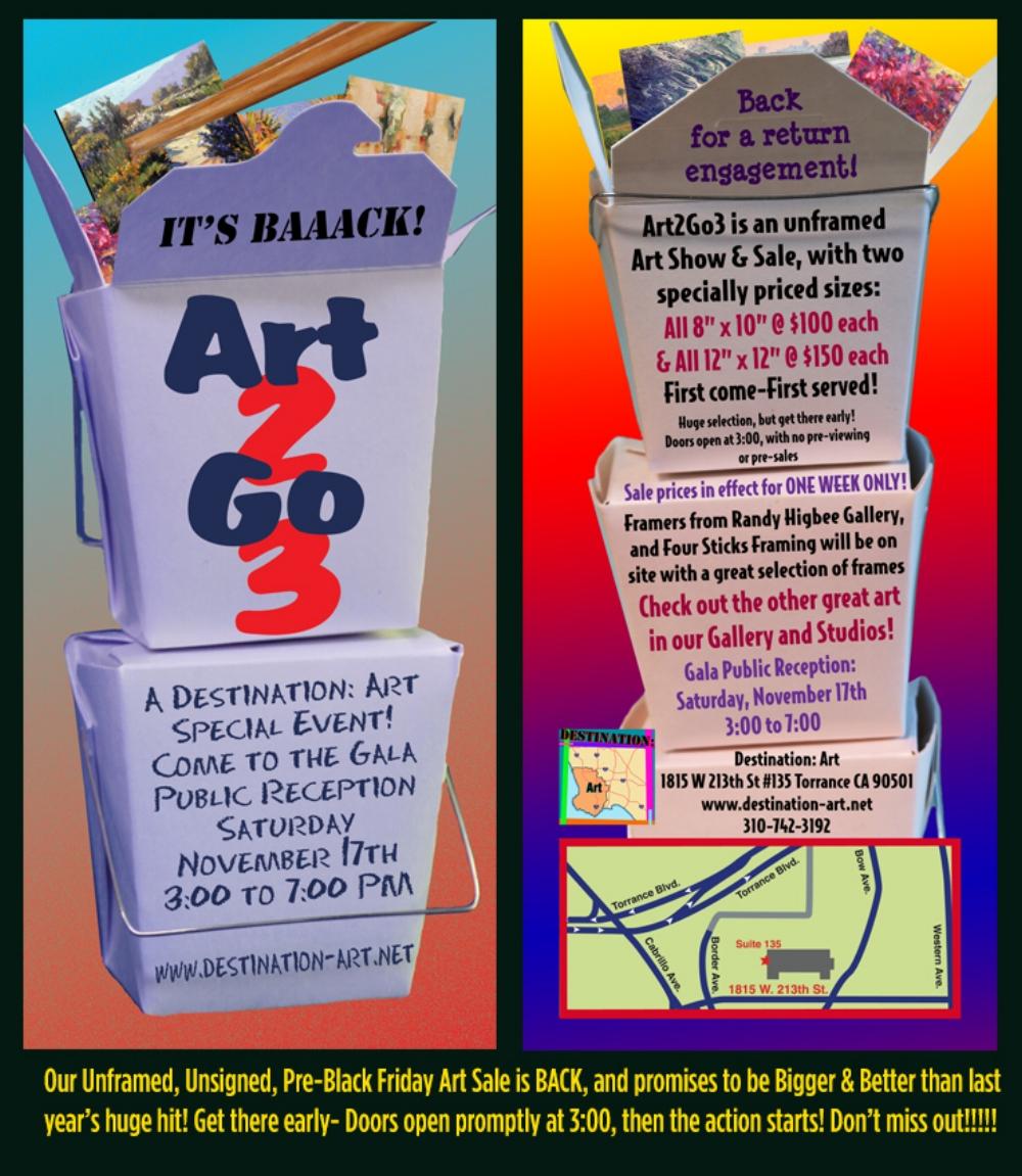 Art 2 Go 3 Gala Public Reception @ Destination: Art | Torrance | California | United States