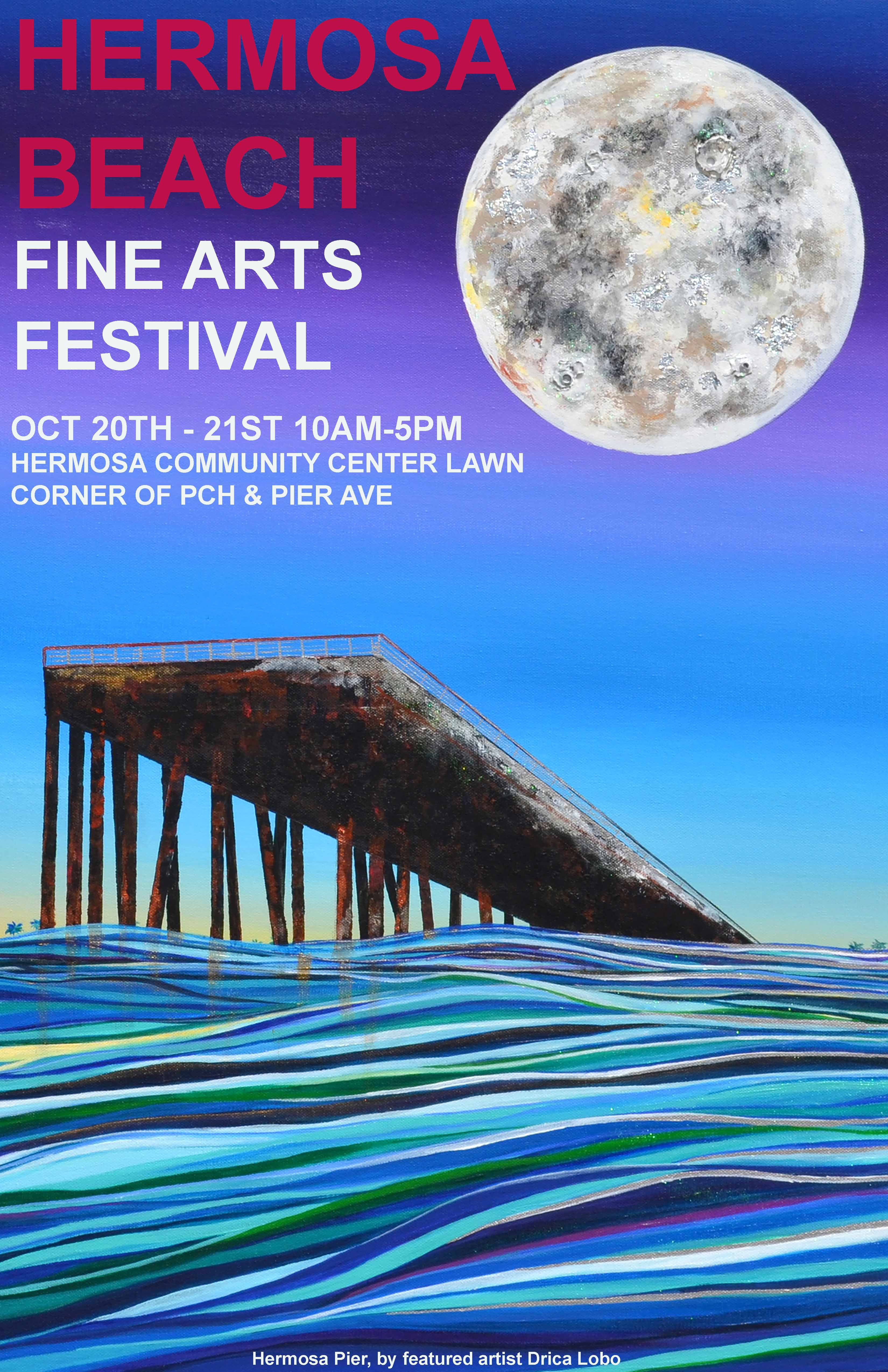 Hermosa Beach Fine Arts Festival @ Hermosa Community Center Lawn | Hermosa Beach | California | United States